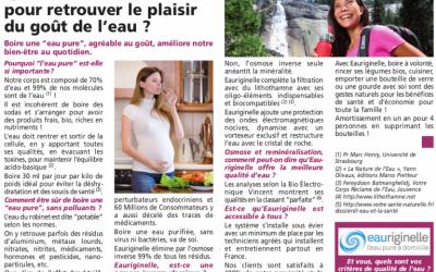 Article de presse dans Soleil Levant
